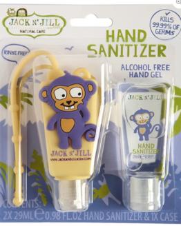 hand sanitiser Jack N Jill Monkey