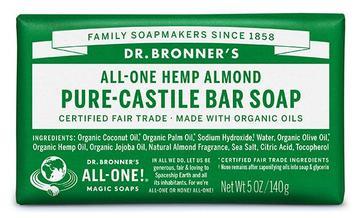 Dr Bronner's Almond Bar Soap
