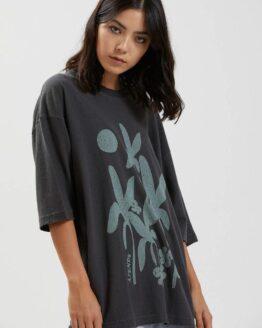 Afends Connect Hemp graphic hemp T-Shirt